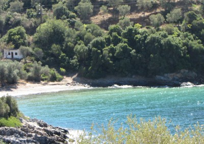 Beach in Chorto 3 km from Milina