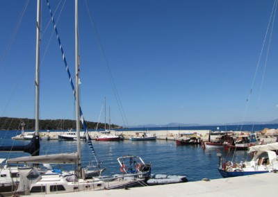 Small port in Milina Pelion